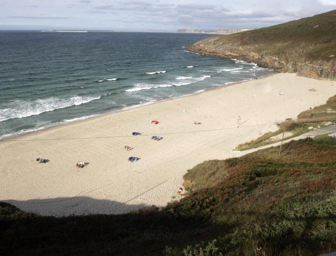 Playa nudista galicia