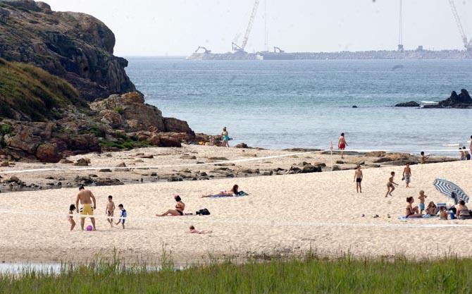 Playa nudista Arteixo