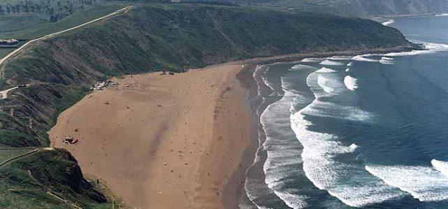 Playa de Barinatxe o La Salvaje