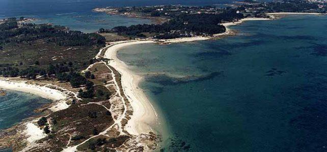 Playas de Carreirón, A Illa de Arousa, Galicia.