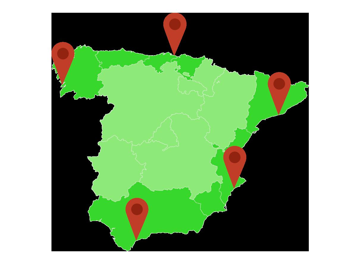 Playas nudistas de España