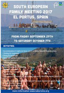 South European Family meeting El Portus 2017