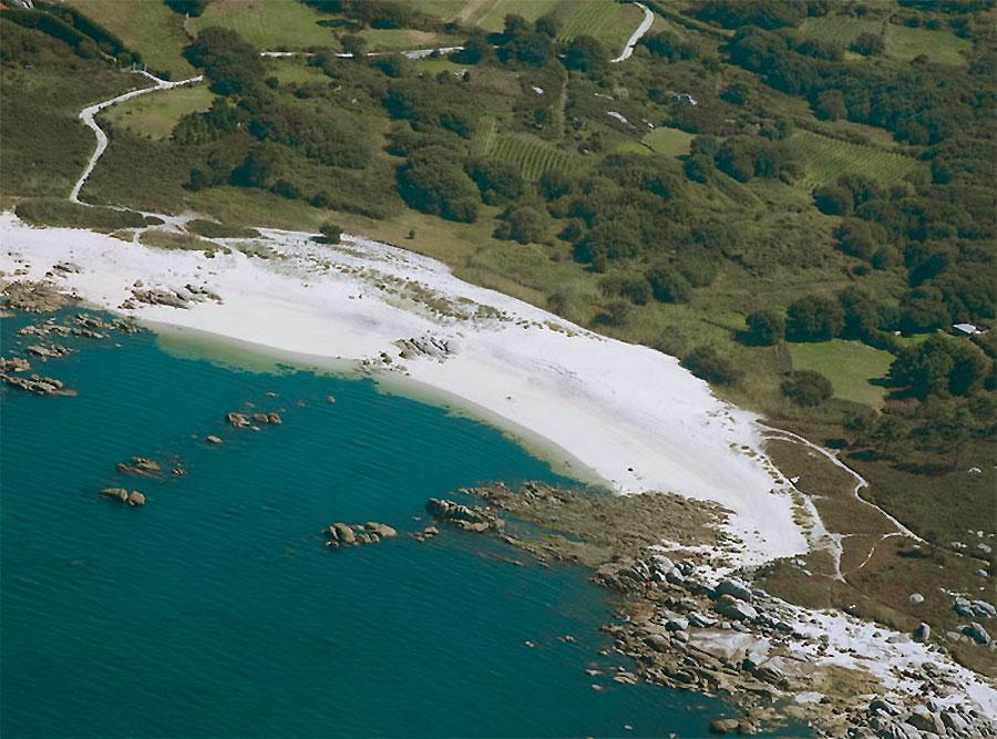 Playa nudista O Grove, Pontevedra