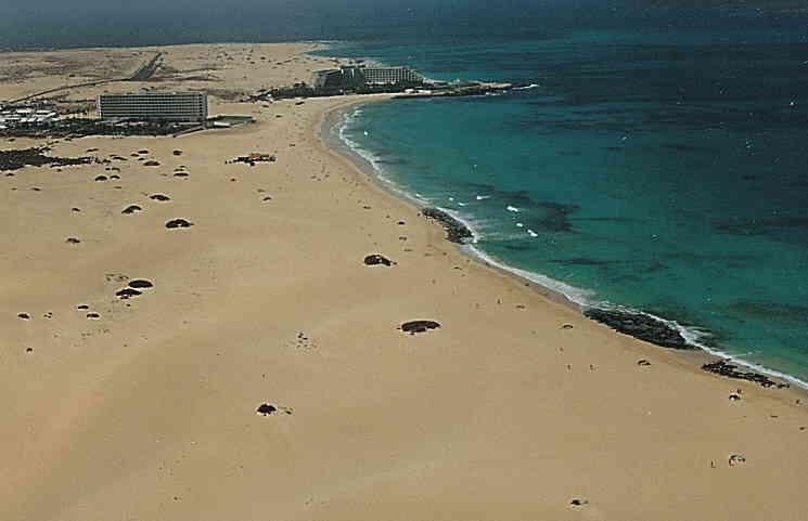 Nudista Fuerteventura Bajo Negro