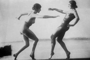 Desnudez y deporte femenino en Alemania