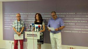 PNL Región de Murcia. Aurelio, MariÁngeles, Juan Francisco Terrones