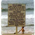 Playa sólo para blancos
