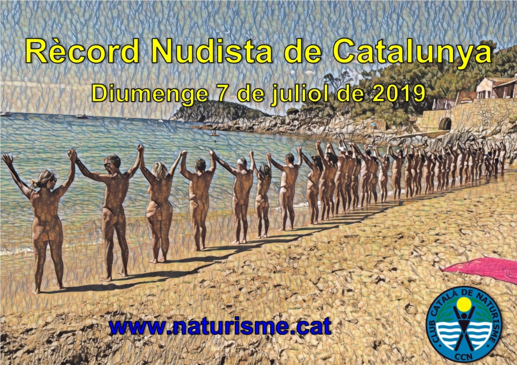 Record Nudista de Cataluña 2019. CCN