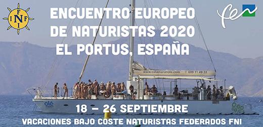 Encuentro Naturista Sur de Europa 2020 El Portus