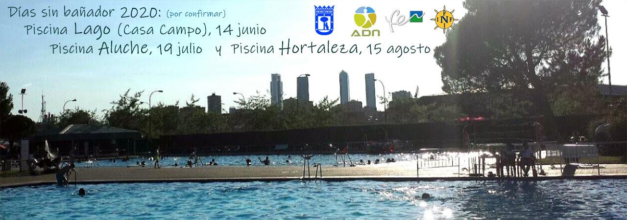 Días sin bañador en 3 piscina públicas de Madrid