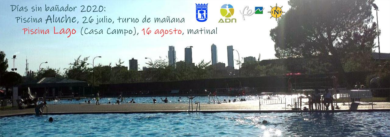 Día del Naturismo - Día sin bañador Lago 16 agosto 2020.